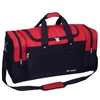 "26"" Large Sport Duffel Bag - Red / Black"