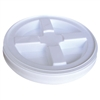 white gamma seal lid