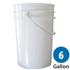 Plastic Pail - 6 Gallon