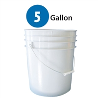 Plastic Pail - 5 Gallon