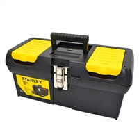 "STANLEY Tool Box 16"" with Tray"