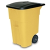 Square Big Wheel Container 50 Gallon