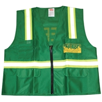 Deluxe CERT Vest with Reflective Stripes - X-Large