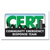CERT Sticker