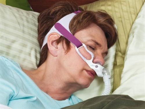 Golife For Women Nasal Pillow Cpap Mask With Headgear