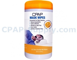 CPAP Mask Wipes - Citrus