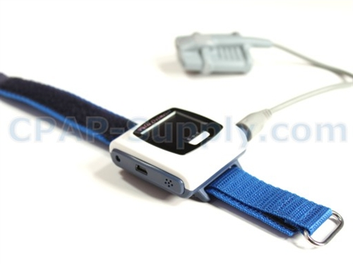 CMS50F Fingertip Pulse Oximeter with Wrist Display