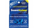 Sound Asleep Soft Foam Earplugs - 12 Pair