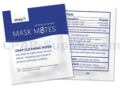 Sleep8 Mask M8tes CPAP Wipes