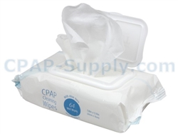 Sunset CPAP Mask Wipes - 64 Wipes
