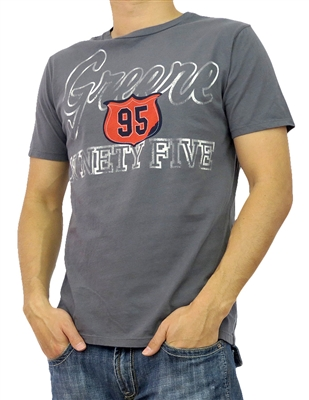 Men Wholesale T-shirts AG-M5 Charcoal (6 PC)