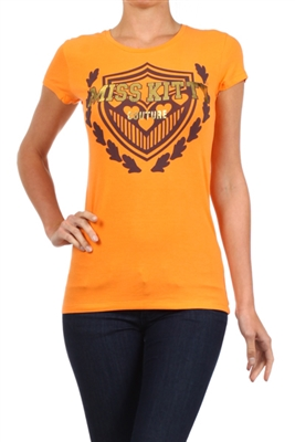 Wholesale Top C-107-ORANGE (6 pc)