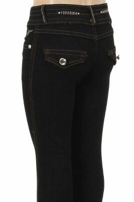 CHPS 502 Kids Denim Jeans Black (12 pc)
