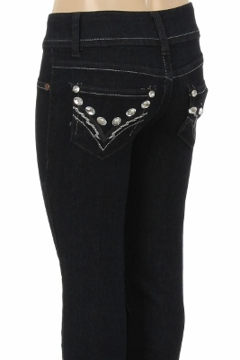 CHPS 506 Kids Denim Jeans-Black (12 pc)