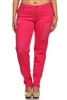 Plus Size Distress Pants COPB-D-Fushia (12 pc)