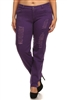 Plus Size Distress Pants COPB-D-Purple (12 pc)