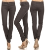 Wholesale Pants Basic 5 Pockets EM-001 Charcoal (19 pc)