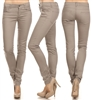 Wholesale Pants Basic 5 Pockets EM-001 Light Gray (19 pc)