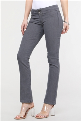 Juniors denim bootcut jeans EP-019 Grey (12 pc)