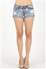 Distress Denim Short LS-100(15pc)