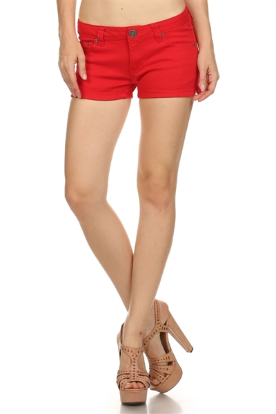 Miss Kitty Couture Shorts MKCS-301 Red