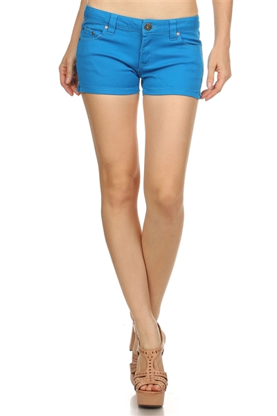 Miss Kitty Couture Shorts MKCS-301 Royal