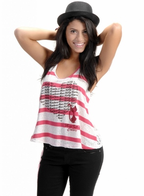 Wholesale Top MKCT-1001-FUSHIA
