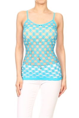 Seamless One size fits all Pendeen Mesh top MYT-081