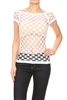 Seamless One size fits all Pendeen Mesh top MYT-763