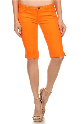 5 Pocket Basic Bermuda NSB-301-Orange