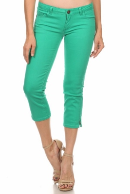 Women Capri Pants NSC-201-Green
