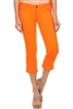Women Capri Pants NSC-201-Orange