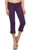 Women Capri Pants NSC-201-Purple