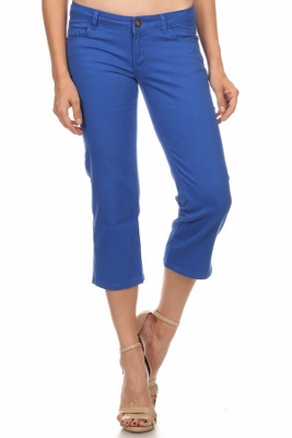 Women Capri Pants NSC-201-Royal