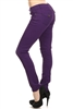 Solid Basic Pants NSP-102-Purple