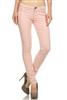 Wholesale Pants Basic 5 Pockets NSP-103 Deep Pink
