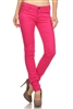 Wholesale Pants Basic 5 Pockets NSP-103 Fushia