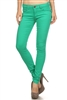 Wholesale Pants Basic 5 Pockets NSP-103 Green