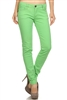 Wholesale Pants Basic 5 Pockets NSP-103 Lime