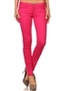 Wholesale Pants Basic 5 Pockets NSP-111-Fushia