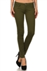 Wholesale Pants Basic 5 Pockets NSP-111-Olive