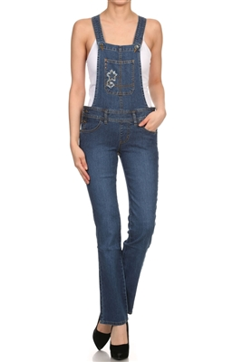 ladies wholesale denim overalls OP7510