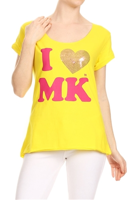 Wholesale Top P-3005-YELLOW