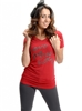 Wholesale Top P-3007-RED