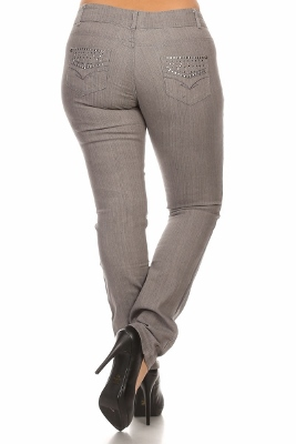 Wholesale jeans PSB-2102-GREY