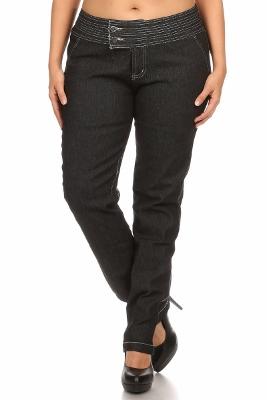 Wholesale Jeans PSB-9083-BLK