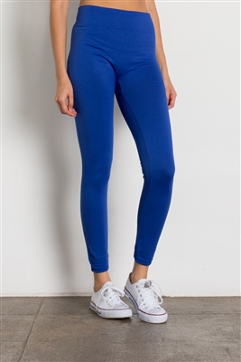 Fleece Leggings-SG-L06-Royal