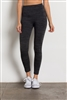 Fleece Leggings-SG-L07-Dark Grey