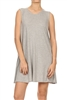 Loose fit dresses SLD-2002 Grey