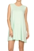 Loose fit dresses SLD-2002 Mint